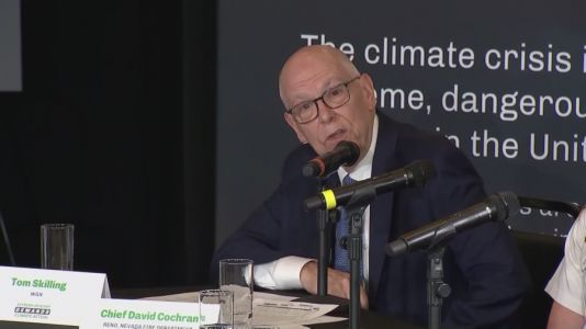 Skilling in Washington to discuss climate change