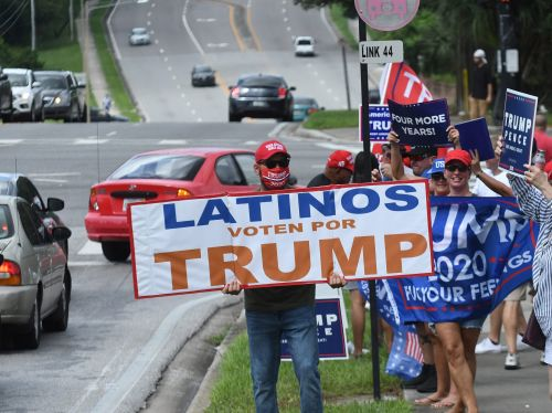 Electoral strength from key minority groups keeps Trump competitive in Florida in the campaign's final str