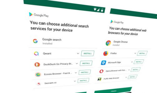 Google to suggest 10 browser and search engine alternatives for Android users in Europe