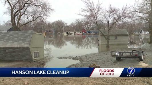 Cleanup at Hanson Lake enters second day