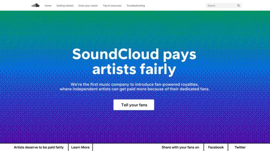 SoundCloud adopts 'fan-powered royalties' that will pay artists based on listening habits instead of the number of streams
