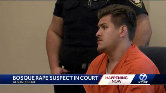 Bosque rape suspect to spend 12 years behind bars