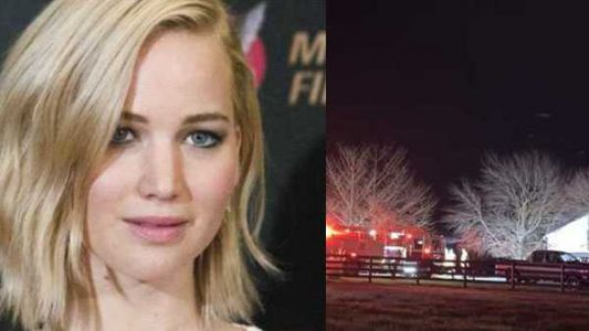 Actress Jennifer Lawrence's family barn destroyed by fire