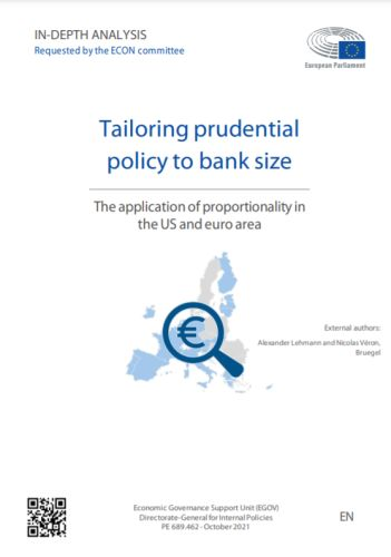 Tailoring prudential policy to bank size: the application of proportionality in the US and euro area