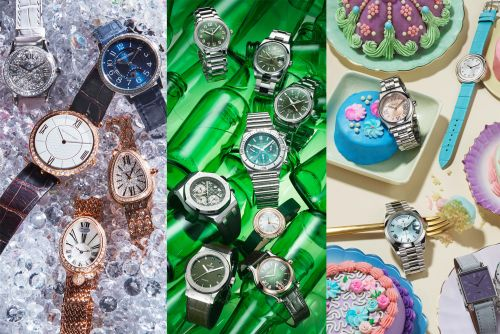 The best watch trends of 2021: green dials, diamonds and pastel faces