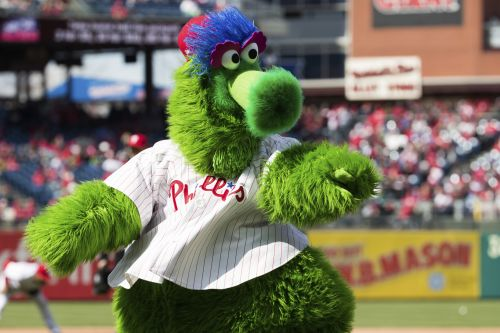 Woman injured at baseball game by Phillie Phanatic's flying hot dog