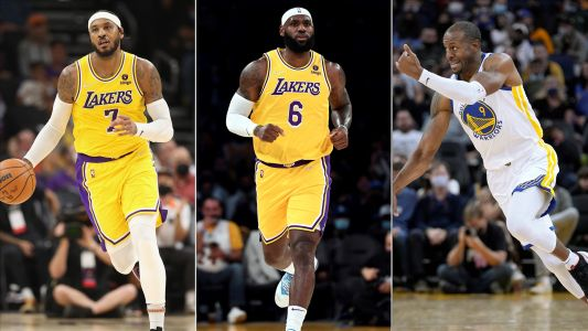 Who are the oldest players in the NBA? LeBron James, Carmelo Anthony and Andre Iguodala highlight accomplished group