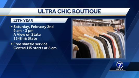 'Ultra Chic Boutique' offers affordable dresses for a cause