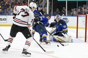 Sanford has 3-point game, St. Louis beats Chicago 6-5