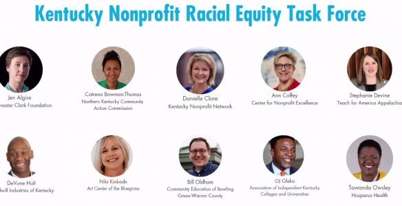 'Discussion to action': Task force created to address racial inequities among Kentucky nonprofits