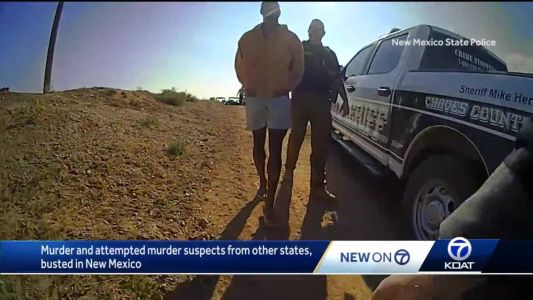 Caught on camera: murder suspects from out of state busted in NM