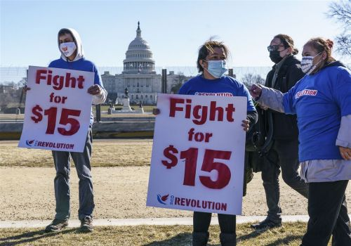 Biden administration, Senate Democrats retreat on $15 minimum wage in relief bill