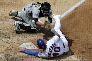 Báez's single in 11th gives Cubs 2-1 win over Pirates