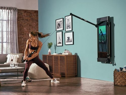Nordstrom is adding 40 mini Tonal shops to its stores, where you can try out the fitness brand's $3,000 wall-mounted workout machine