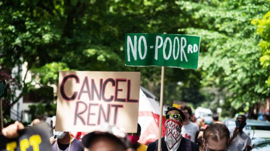 'No One Can Live Off $240 A Week': Many Americans Struggle To Pay Rent, Bills