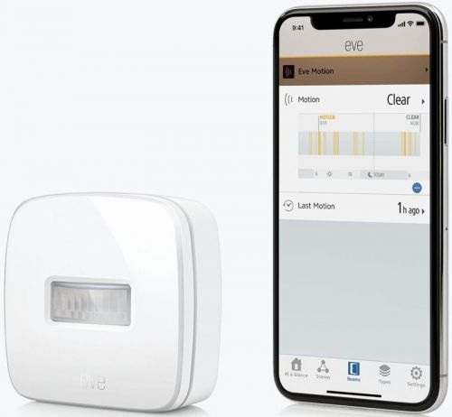 Tired of using a light switch? Then you need a HomeKit motion sensor!
