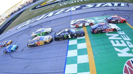 NASCAR at Kentucky live race updates, results, highlights from the Quaker State 400