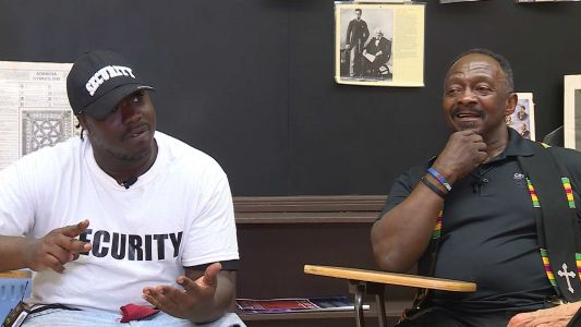'Don't be like me': Man recently released from prison on mission to help youth amid recent gun violence