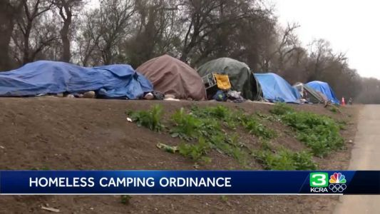 New ordinance would remove homeless encampments around levees