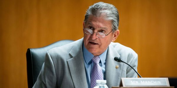 INTERVIEW: Joe Manchin says he's 'very much concerned' about inflation and the national debt. He's not committing to Democrats' $3.5 trillion spending plan yet