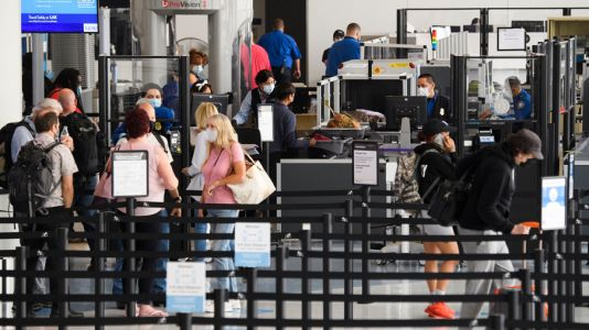 TSA screens over 2 million passengers in a single day for the first time since March 2020