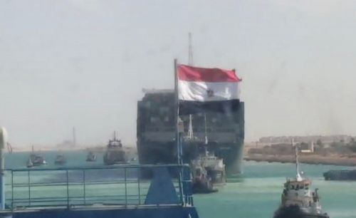 The Ever Given has been freed and is moving again after 6 days blocking the Suez Canal