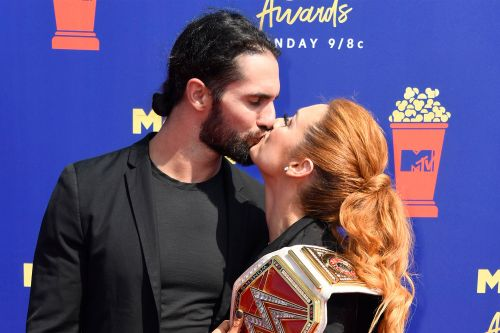 WWE stars Seth Rollins and Becky Lynch are engaged
