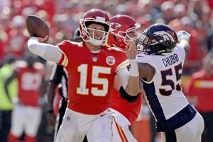 Mahomes, Rosen to face off when Chiefs welcome Cardinals