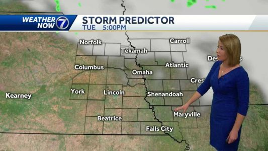 Warmer and windy today, but cooler air returns Tuesday