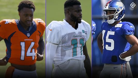 Fantasy Injury Updates: Courtland Sutton, DeVante Parker, Golden Tate, more WRs impact Week 2 start 'em, sit 'em calls