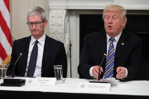 Trump on concerns WeChat ban could hurt iPhone sales: 'Whatever'