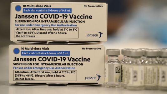 U.S. Recommends Pausing Use Of Johnson & Johnson Vaccine Over Blood Clot Concerns