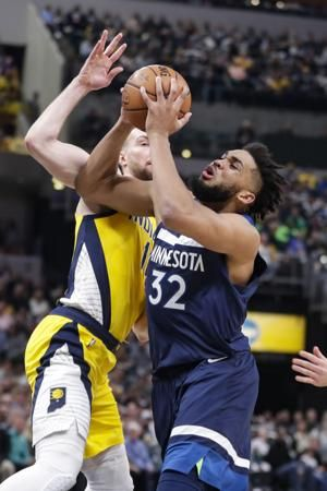 Brogdon's tiebreaking basket sends Pacers past Timberwolves