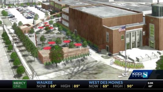 Work begins on massive project to turn school into entertainment center