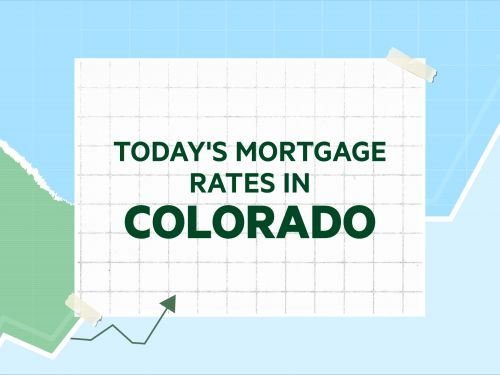 Today's mortgage and refinance rates in Colorado