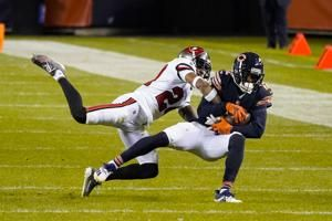 Bears star receiver Robinson in NFL's concussion protocol