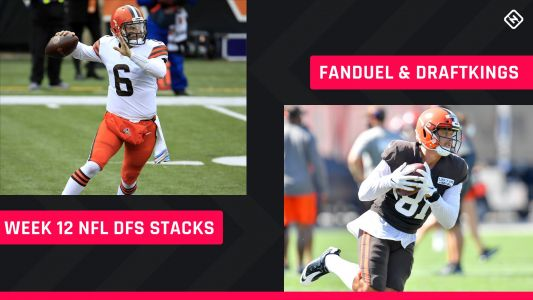 Week 12 NFL DFS Stacks: Best lineup picks for DraftKings, FanDuel tournaments, cash games