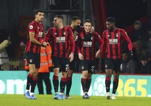 Bournemouth ends 4-game EPL losing run by beating Brighton