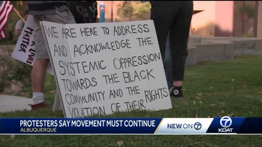 Protesters refuse to let act of violence deter movement