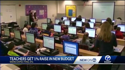 Teacher raises largely cut in new budget, but union says there are bigger problems