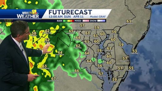 Rain overnight into early Sunday morning