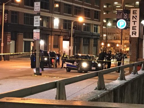 Downtown Baltimore streets blocked off after shooting involving police