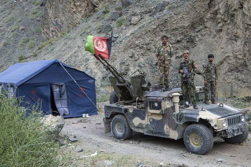 A 'Life and Death Fight' Against the Taliban in Central Afghanistan