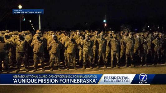 'A unique mission for Nebraska': Nebraska National Guard, OPD officers in D.C. for inauguration