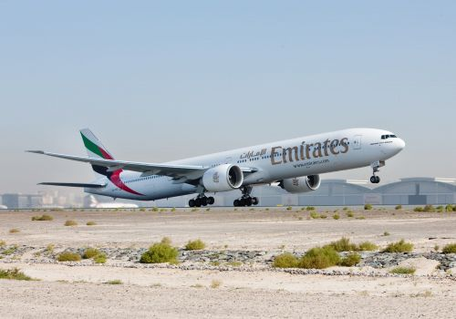 Emirates may reconsider plane orders from Airbus and Boeing because of the pandemic, but that's especially bad news for the US plane-maker