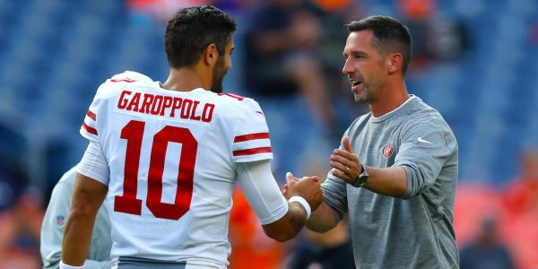 A conversation between Bill Belichick and Kyle Shanahan after the Patriots' huge comeback in Super Bowl 51 may have helped the 49ers land Jimmy Garoppolo