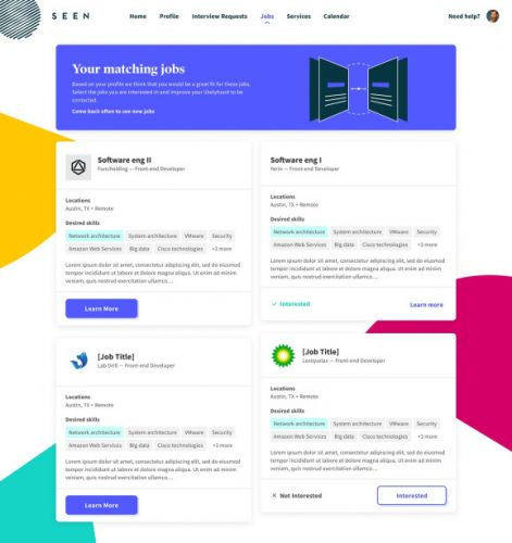 Seen by Indeed helps tech workers figure out their best job opportunities