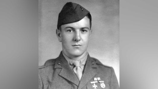 WWII Marine laid to rest in Arlington National Cemetery nearly 78 years after his remains went missing