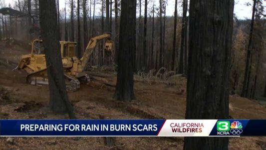 How clean-up crews are working to prevent dangerous mudslides along HWY 50 ahead of wet weather