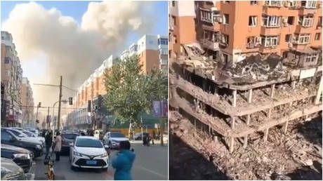 At least 3 killed, 30+ injured after massive gas explosion erupts in northern China